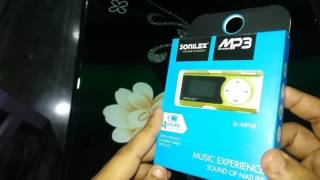 Sonilex mp3 player  unbox and review (in hindi)