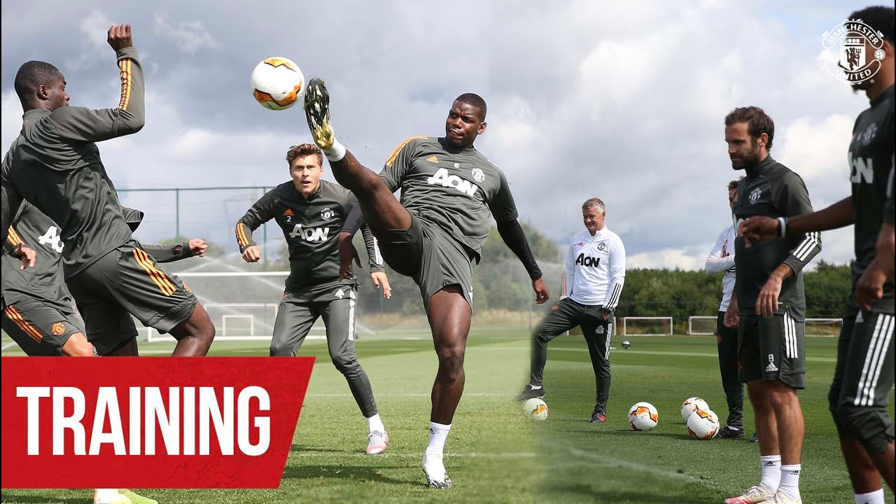 TRAINING | LASK Preparations | Manchester United