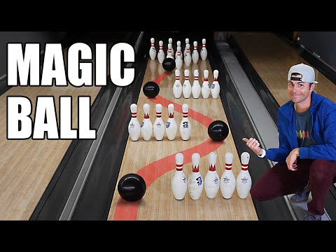 Automatic Strike Bowling Ball