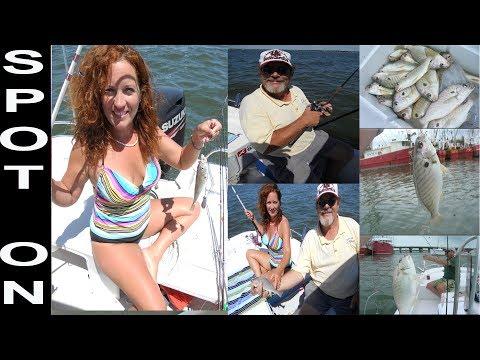 Spot Fishing In Phoebus Virginia By The Chesapeake Bay Jim Baugh Outdoors TV