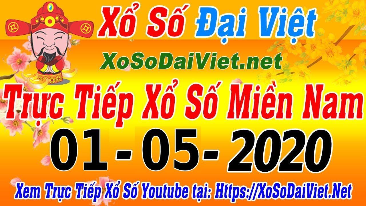 XSMN TRỰC TIẾP XỔ SỐ MIỀN NAM HÔM NAY THỨ 6 NGÀY 01/05/2020, KQXS MIEN NAM