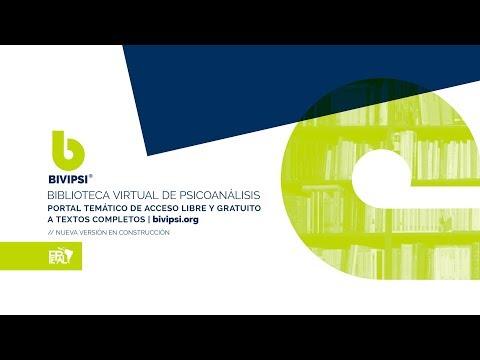 BiViPsiL Uso del Buscador y Contenidos del Portal - Search Engine Tutorial Eng Subtitles