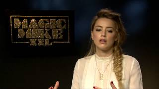 Interview with Amber Heard for Magic Mike XXL