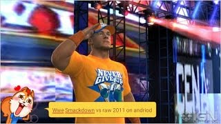Wwe smackdown vs raw 2011 on android download