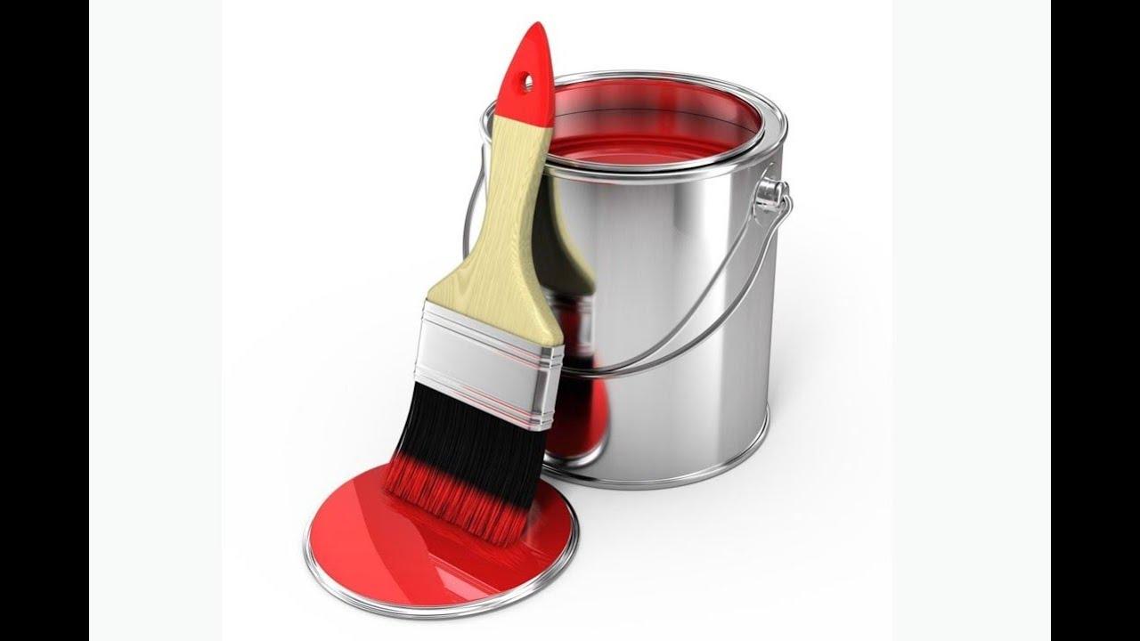 Резиновая краска – характеристики, применение, правила использования
