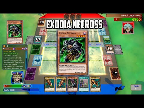 Yu Gi Oh! Legacy of the Duelist - Exodia Necross |