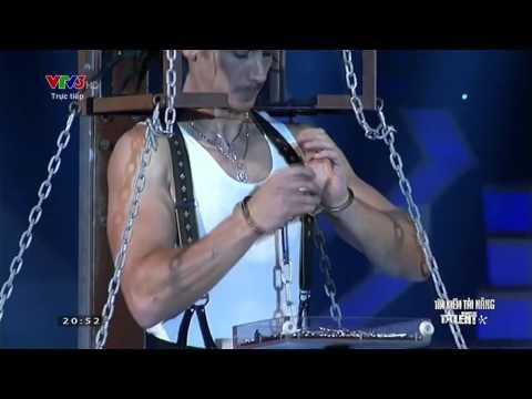 Vietnam's Got Talent: Ảo thuật gia hàng đầu thế giới Paul Cosentino