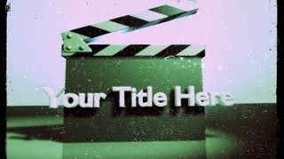 How to Make an Animated Title in Adobe Premiere Pro CS6