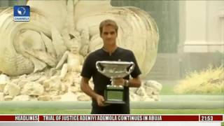 Roger Federer, Serena Williams Celebrate Australian Open Victories
