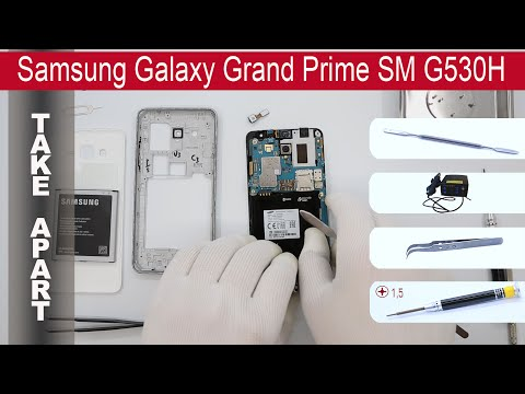 How to disassemble 📱 Samsung Galaxy Grand Prime SM-G530
