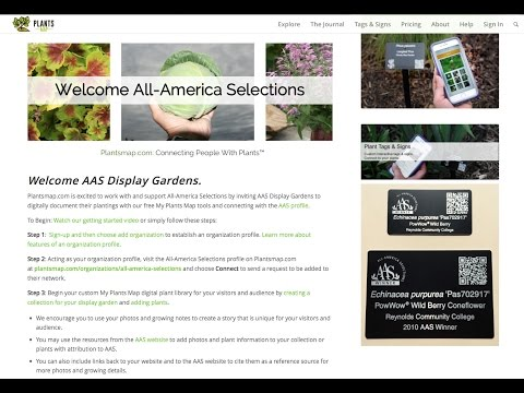 AAS Display Gardens Welcome Video