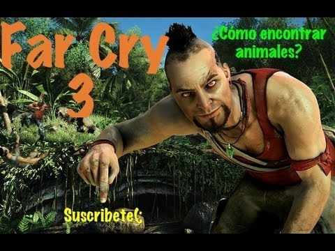 Far Cry 3 Guía Completa HD - PS3/Xbox360/PC - Como encontrar animales
