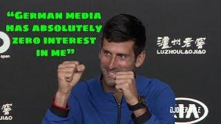 Novak Djokovic vs German Journalists - Australian Open 2019 (HD)