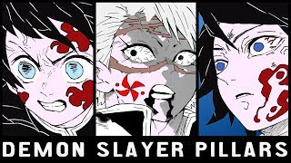 Demon Hunter Pillars Explained | Kimetsu No Yaiba