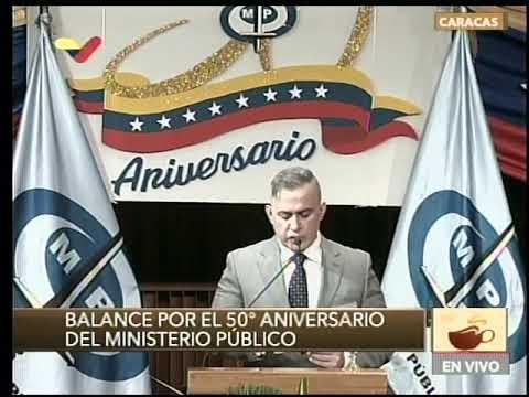 Fiscal General venezolano, balance de actuaciones del Ministerio Público en 50 aniversario