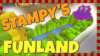 Stampy's Funland - Bouncy Boats