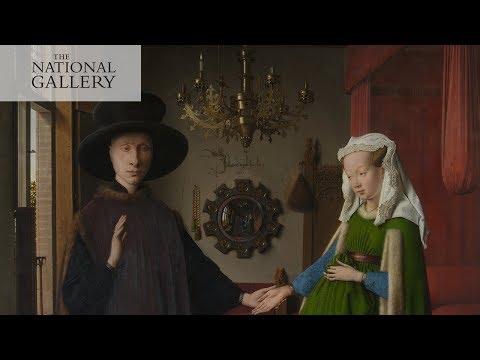 Van Eyck's Arnolfini Portrait | Reflections: Van Eyck and the Pre-Raphaelites | National Gallery