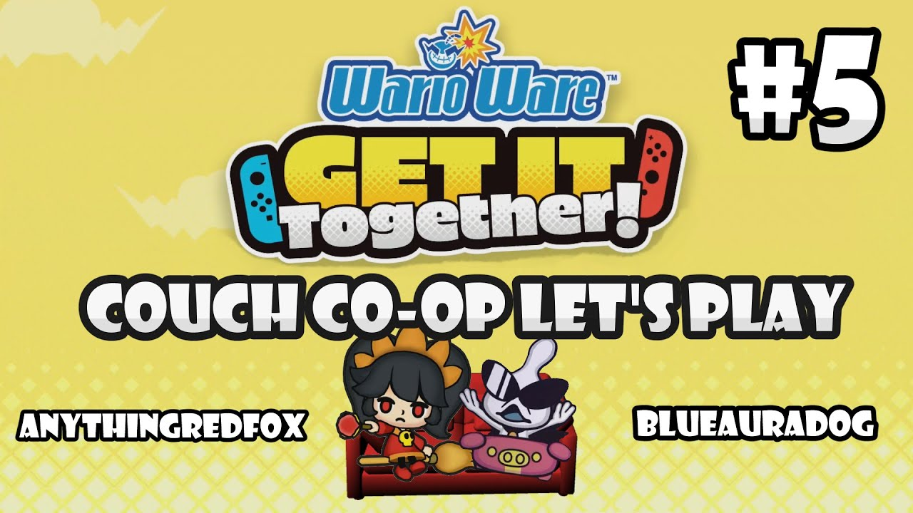 [Let's Play] [Couch Co-Op] WarioWare: Get It Together! PART 5: Ashley and Orbulon [Nintendo Swi