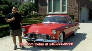 1955 Ford Thunderbird Classic Muscle Car for Sale in MI Vanguard Motor Sales