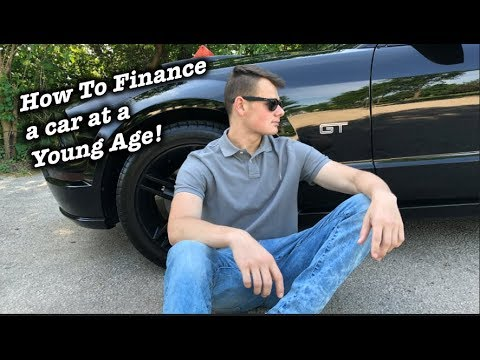 How to Finance a NEW CAR at 18 Years Old!