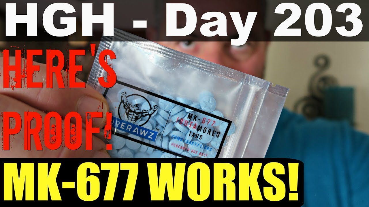 HGH - Day 203 - Does MK 677 Work?