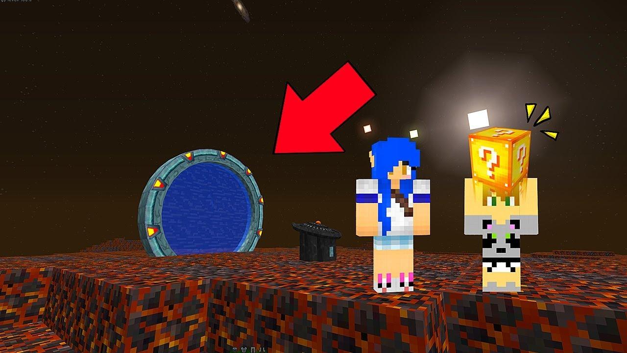 Batalha Lucky Block No Sol Com Moonkase Minecraft Youtube