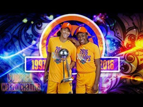 2016 WNBA Champions Los Angeles Sparks