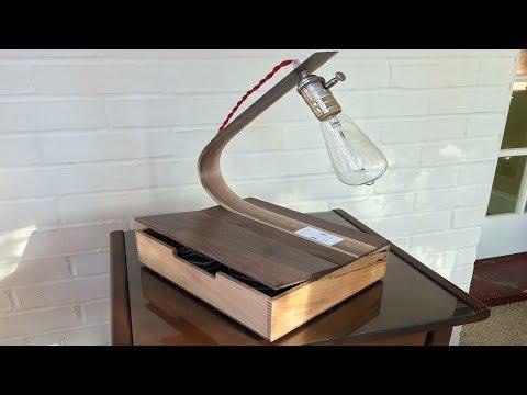 USB Outlet Lamp DIY Build