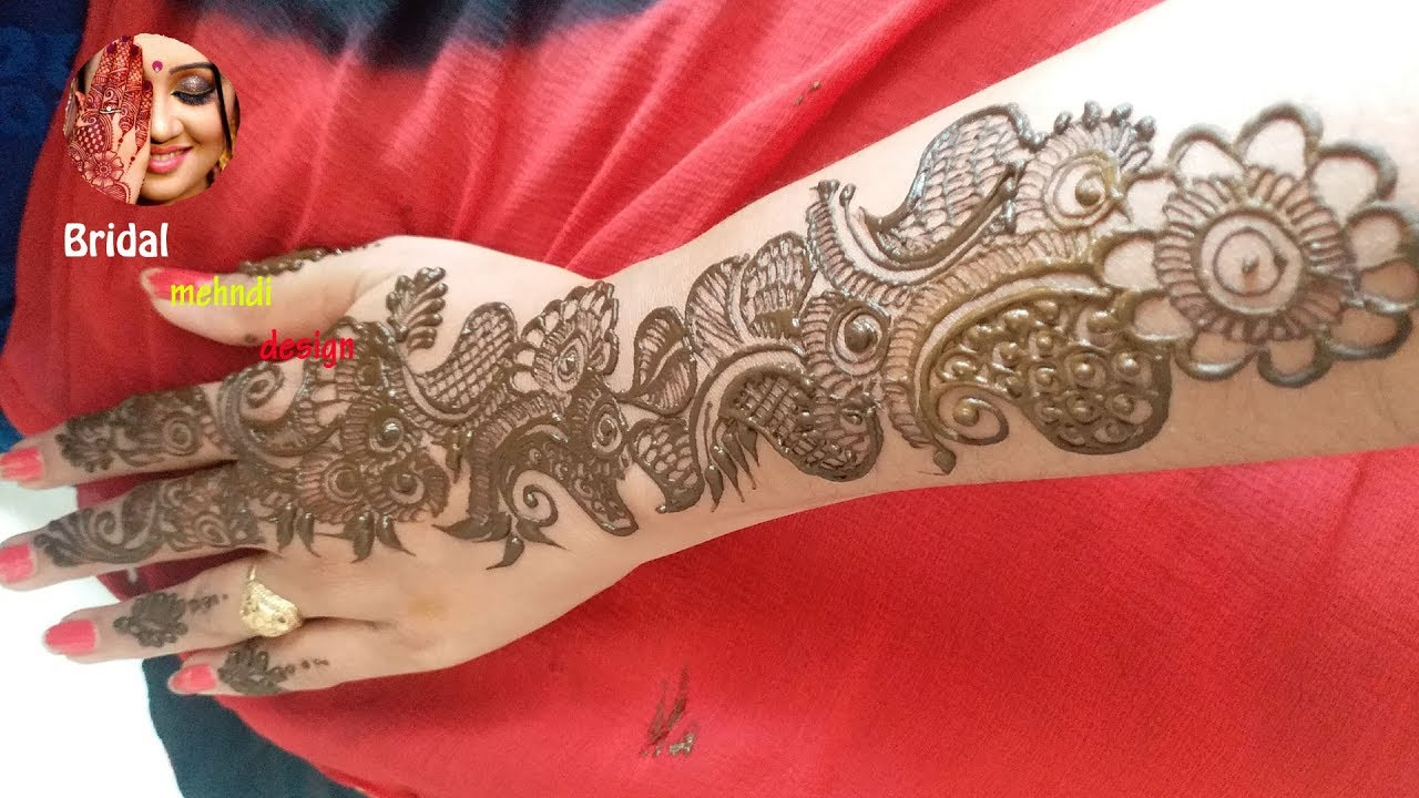 arabic stylish arabic arabic mehendi design back hand
