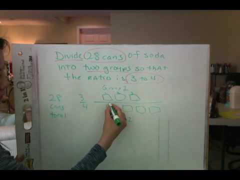 common core ratio word problem 6th grade youtube. Black Bedroom Furniture Sets. Home Design Ideas