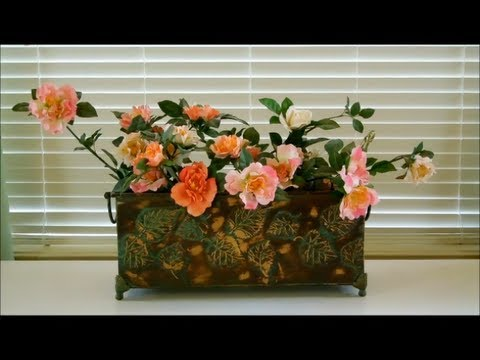 Floral Decoration how to make floral arrangements - part 4 - floral decoration