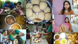 ఆదివారం అమ్మ వాళ్ళ ఇంట్లో | Homemade Bakery Style Biscuits | Chat Baskets | 4 products makeup look