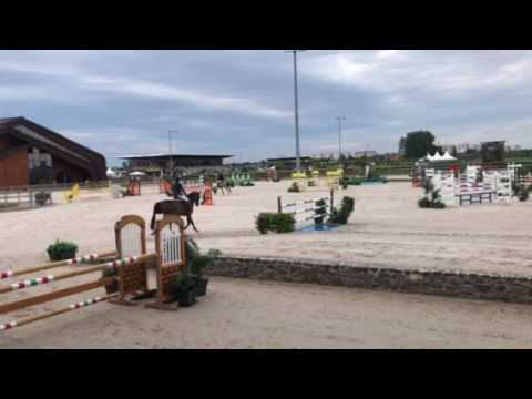 Good Girl II 6 year old. Samorin, Slovakia. 1.20 3rd place