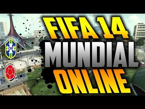 FIFA 14 -MUNDIAL |COLOMBIA VS BRASIL