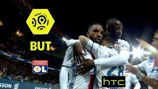 But Alexandre LACAZETTE (6') / Paris Saint-Germain - Olympique Lyonnais (2-1) -  / 2016-17