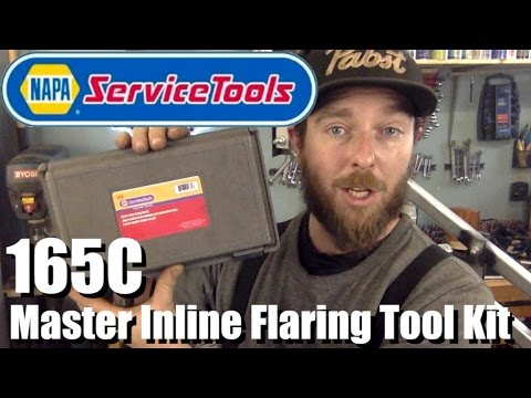 Brake Line, Inline Flaring Tool - First Look & Demo - Napa Service Tools