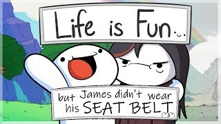 [YTP] TheOdd1sOut - Life Is Fun but James didn't wear his seat belt