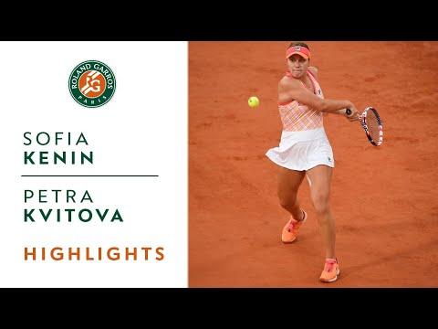 Sofia Kenin vs Petra Kvitova - Semi-final Highlights I Roland-Garros 2020