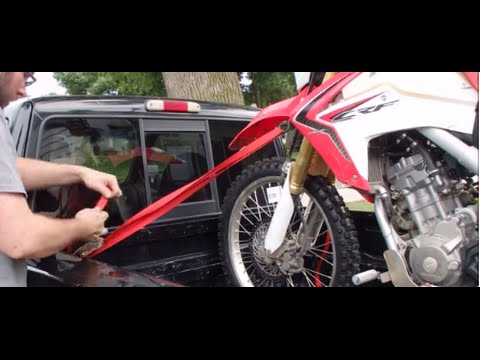 How to Tie Down a Motorcycle