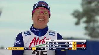Krista Pärmäkoski hiihtää toiseksi! - Rukan Maailmancup 2019 - Naisten 10km (p)