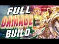 Smite: Olorun FULL Damage Build - THE HUGE MAGICAL CRITS!