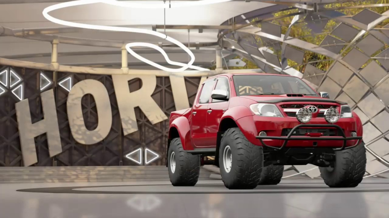 upgrading the toyota hilux to the max with a 2jz engine hot wheels dlc forza horizon 3 youtube. Black Bedroom Furniture Sets. Home Design Ideas