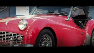 "Triumph TR3 Short Film ""Childhood Dreams On The Last Open Road"""