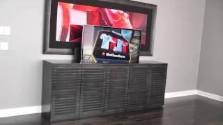 Tv Lift Cabinet /modern/ By Belak Woodworking Llc