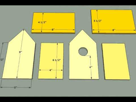 15 bird house plans - simple diy bird house plans - youtube