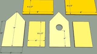 15 Bird House Plans - Simple Diy Bird House Plans