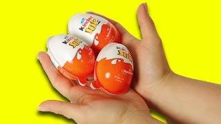 3 Sürpriz Yumurta Açıyoruz
