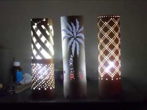 Lampe en pvc led solaire forme ampoule d coration - Lampe solaire decorative exterieure ...