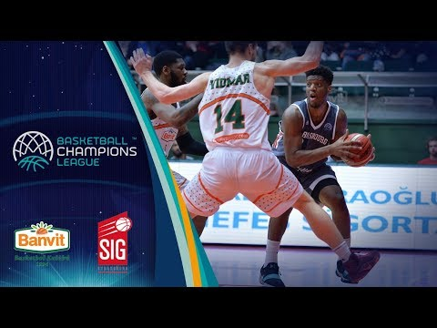 Banvit v SIG Strasbourg - Full Game - Basketball Champions League