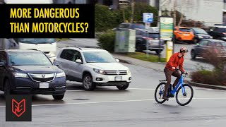 Why Electric Bikes are More Dangerous than Motorcycles